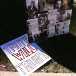 Some photos of the protestors' ancestors, who were in Armenia at the time of the mass killings