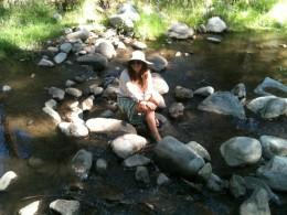 Edwards in the creek / Dorian Edwards