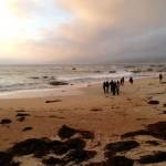 Sunset on the beach at Algarrobo / Shalini Kannan