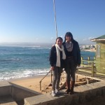 Kannan and a new UC friend at Algarrobo / Shalini Kannan