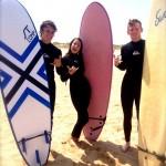 Surfing in Santander/Elizabeth Matusov