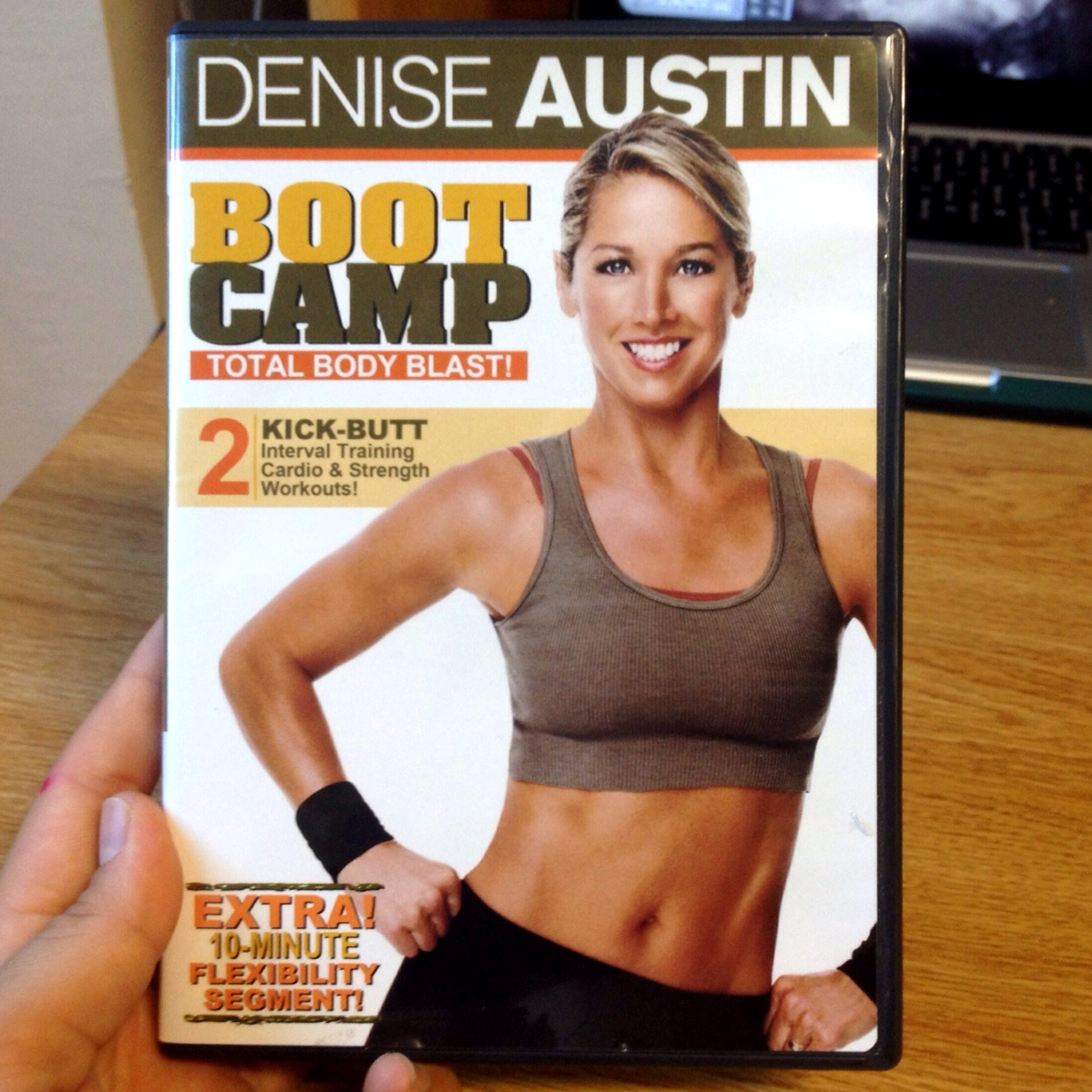 Charlotte S Fitness Dvd Reviews: Mojo » Fitness DVD Review Number Two : Denise Austin's