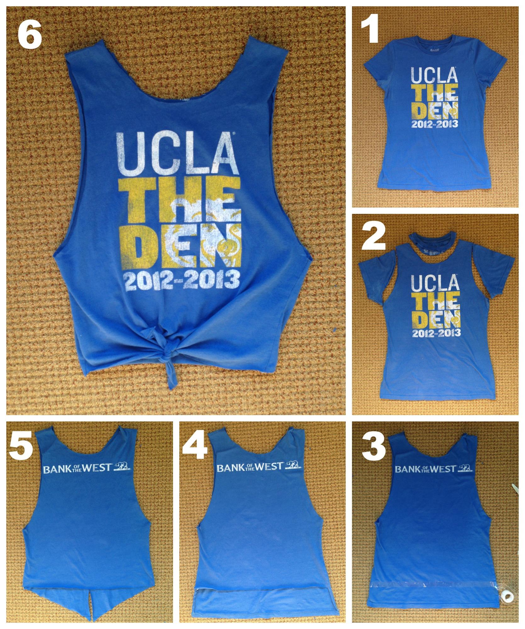 Mojo » DIY: Make T-Shirts Into Tank Tops
