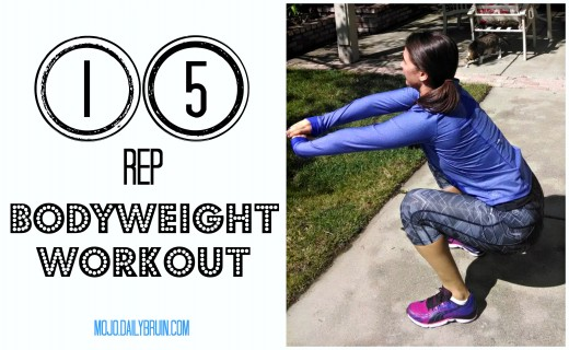 15rep bodyweight workout