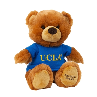 Image result for baby with ucla bruin teddy bear
